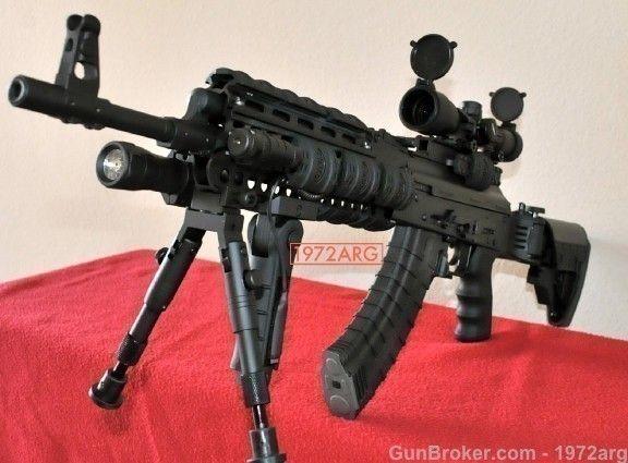 SAIGA AK 47 SPETSNAZ TACTICAL SERIES AK47 BANNED : Semi Auto Rifles at GunBroker.com