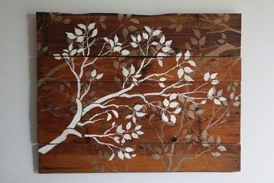 Old boards into prettiness...