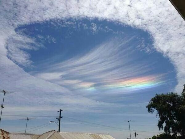 Ufo clouds in Australia