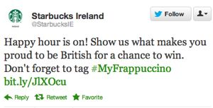 oooOOOOPS! -Starbucks Forgets That Whole Irish Independence Thing, Asks Country About Its British Pride - The Consumerist