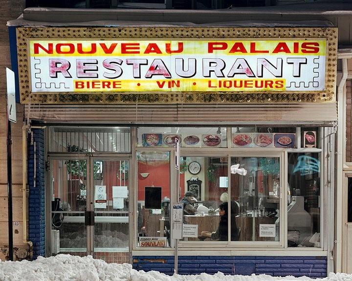 One helluva burger. Le Nouveau Palais - Montreal, QC