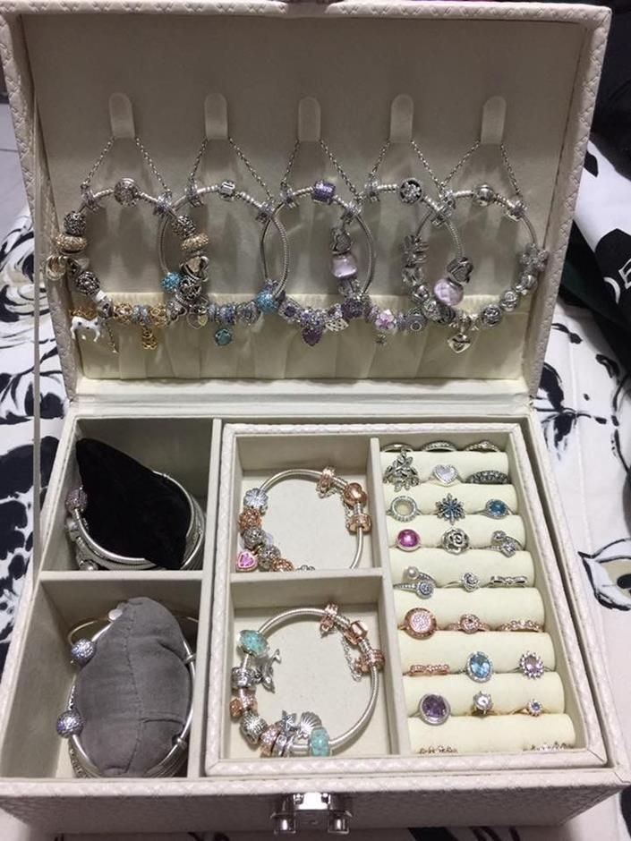 boite bijoux pandora
