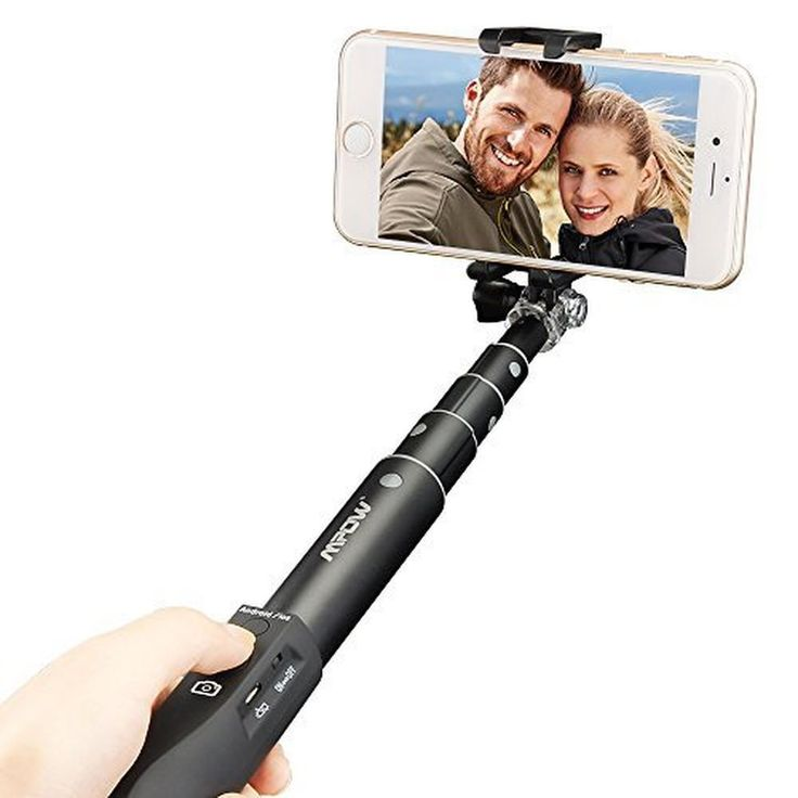 Mpow Selfie Stick Extendable Aluminum Monopod with Built-in Bluetooth Remote ... in Cameras & Photography, Tripods & Supports, Tripods & Monopods | eBay