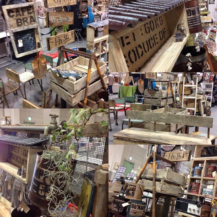 本日は 神戸国際展示場に来ております アート&手作りバザールに 出展しております ブースNo.き-06.07 よろしくお願いします  http://ift.tt/1QE0QJb http://ift.tt/1rDE7sU  #karinto#かりんとう #karinto_base #リサイクルウッド#recyclewood #リメイク#リボーン #足場板#スカフォルディング #パレット#古材 #ビンテージウッド #vintage #ジャンク#junk #ミルクペイント #エイジング #ブロカント#brocante #モルタル#モルタル造形 #リメイク缶#リメ缶 #インテリア#グリーン #ウェディング#wedding by karinto_base