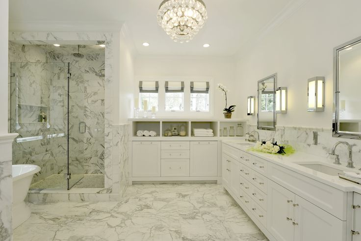 Statuary Marble Bathroom Murphy Brothers Kitchens Baths Pinterest Marbles Fairfield