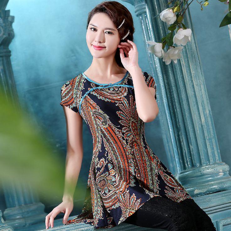 Women'S Oriental Blouse 45