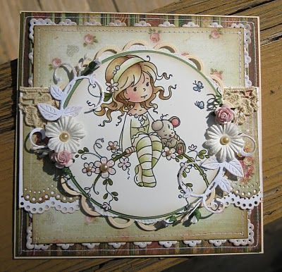 Sweet Blossom [SZWS103] - $7.00 : Whimsy Stamps