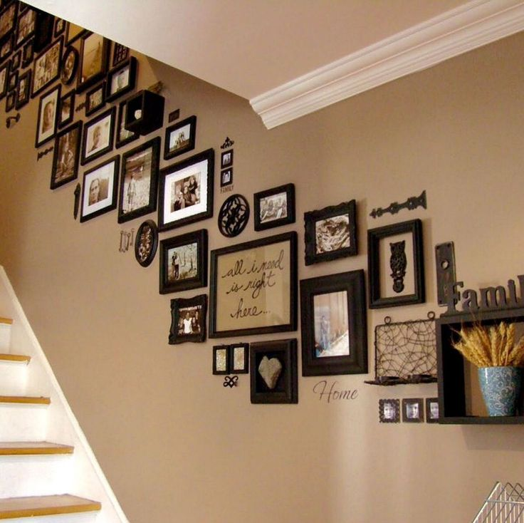 Декорирование лестниц фотографиями