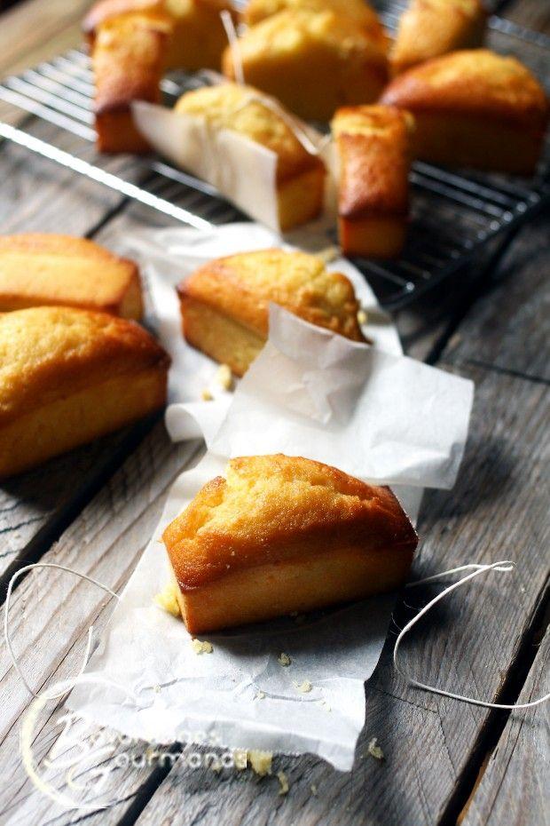 Mini cakes au citron   Bavardages Gourmands