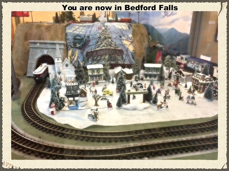 "| Bedford Falls Train Station | The ""It's A Wonderful Life"" Train Station Welcome to Bedford Falls... A place where ""no man is a failure who has friends."""