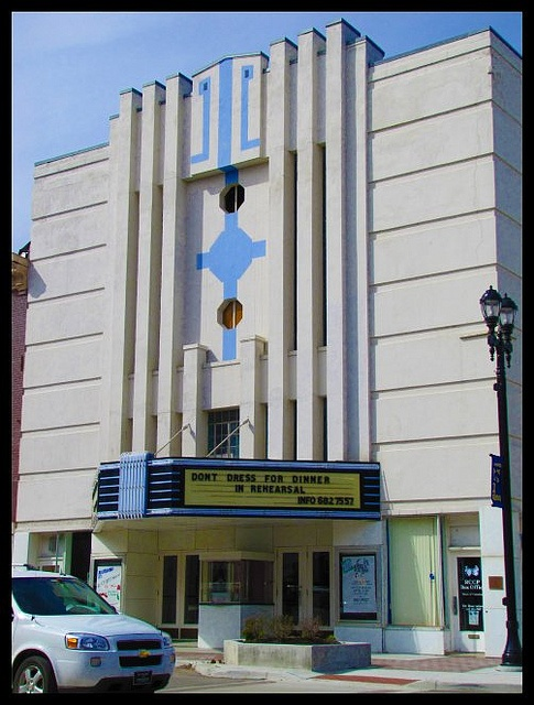 Hollywood Theater    - downtown Leavenworth, Kansas. Wow dated boy that ran the movie reels there.