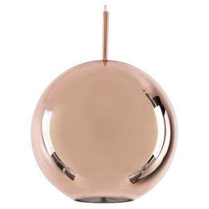 Searchlight Linden Copper Dome Pendant