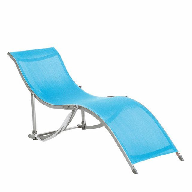 CHAZA Folding Sun Lounger La Redoute Interieurs Reduced To £90.30 Each.  Folds Flat But Part 61
