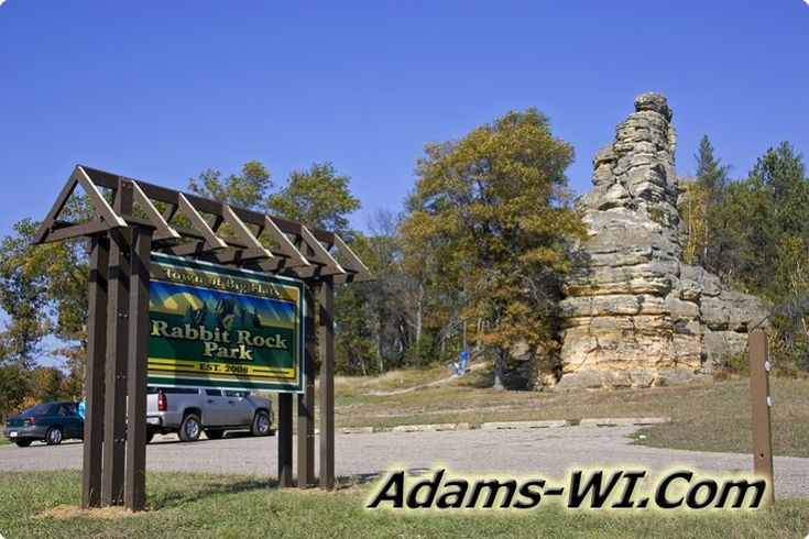#rabbitrock Rabbit Rock & Wayside is located in Adams County Wisconsin here you can find Info, Maps, Photos, Aerial Images plus Area Information like Lakes, Public Land, Townships and nearby communities. #adamscountywi