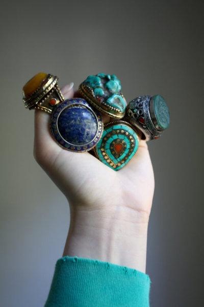 #tribal #rings
