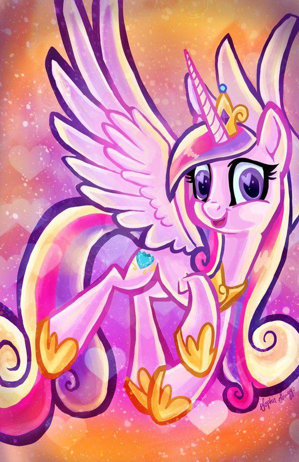 Princess Cadence by Sophillia.deviantart.com on @DeviantArt