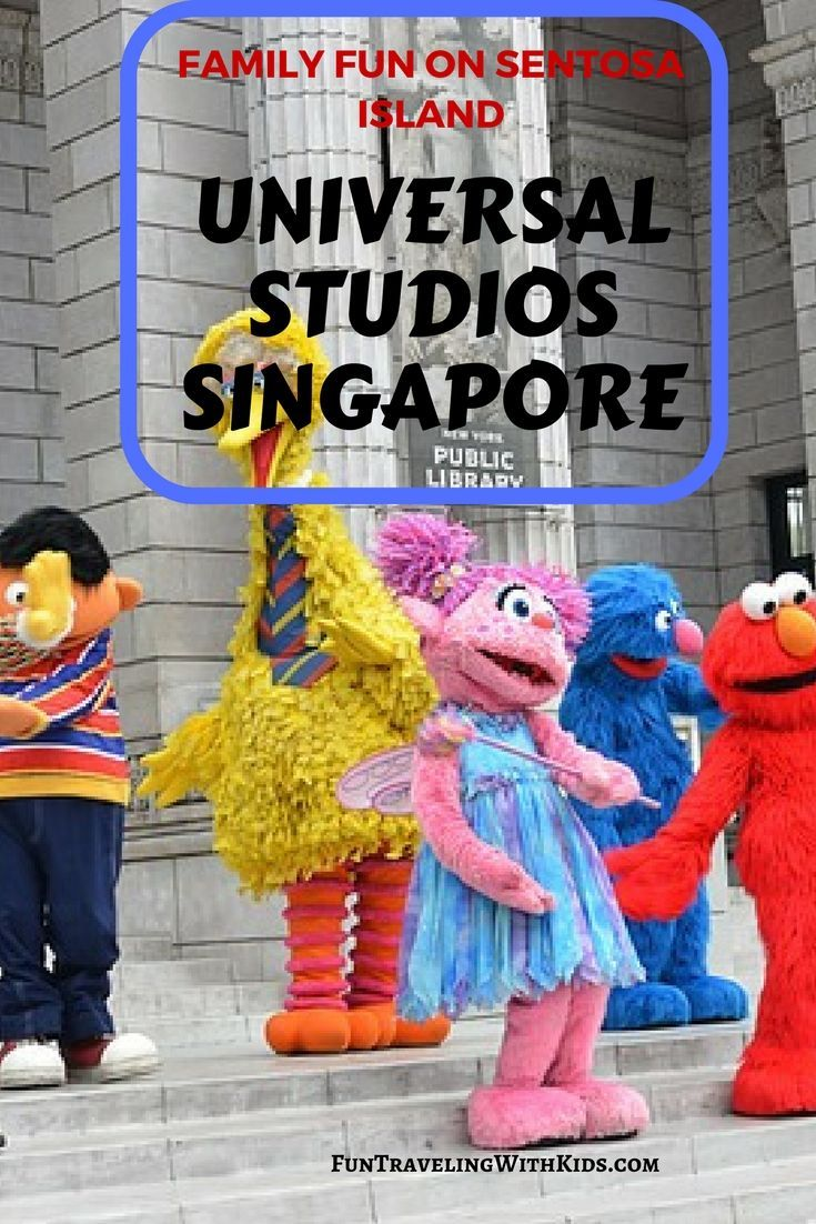 Universal Studios Singapore; family vacation Singapore; Guide to Universal Studios Singapore; Sentosa island