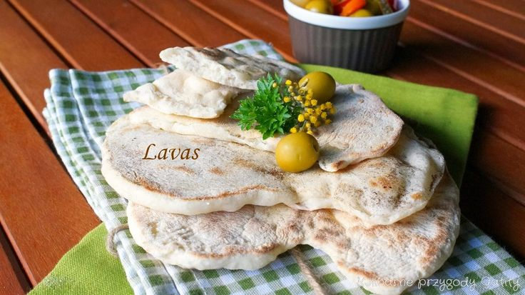 Lavas, turecki chlebek z patelni