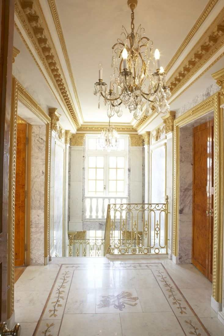 French Louis Xvi Palace With Russian Influences And An