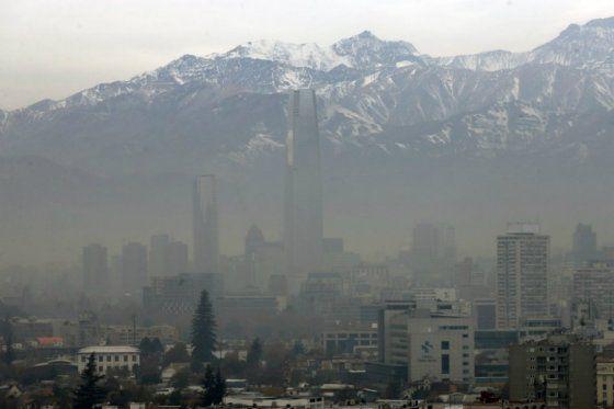 Decretan medidas ambientales especiales en Santiago de Chile por alto nivel de contaminación