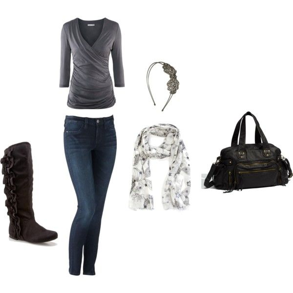 First set that I (Melissa Miller) made myself on Polyvore...pretty proud of myself :) It's quite fun making up my own outfits!
