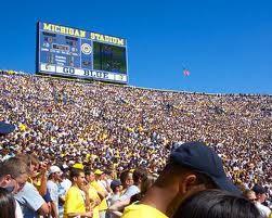 University of Michigan Big House - Ann Arbor Michigan festivals and events
