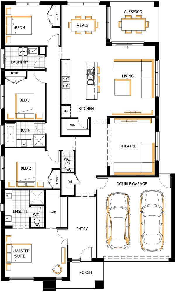 3038 best House Plans images on Pinterest | House floor plans ...