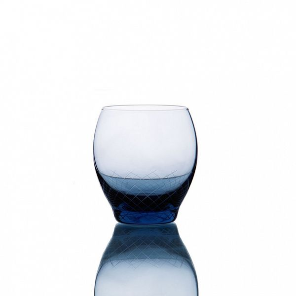PRODUCTS :: LIVING AND DESIGN :: Kitchen :: Glasses :: Sera-Irida бокал для воды (Sedomora-синий)