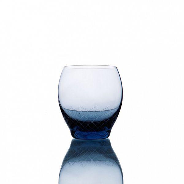 PRODUCTS :: LIVING AND DESIGN :: Kitchen :: Glasses :: Sera-Irida бокал для воды (Sedomora-синий)