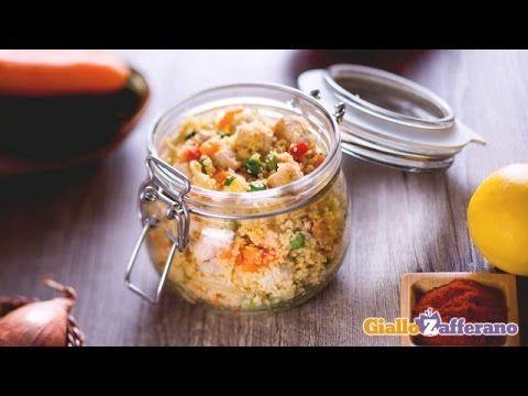 Couscous freddo di pollo - YouTube
