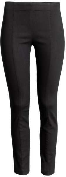 H&M - Slim-fit Treggings - Black - Ladies