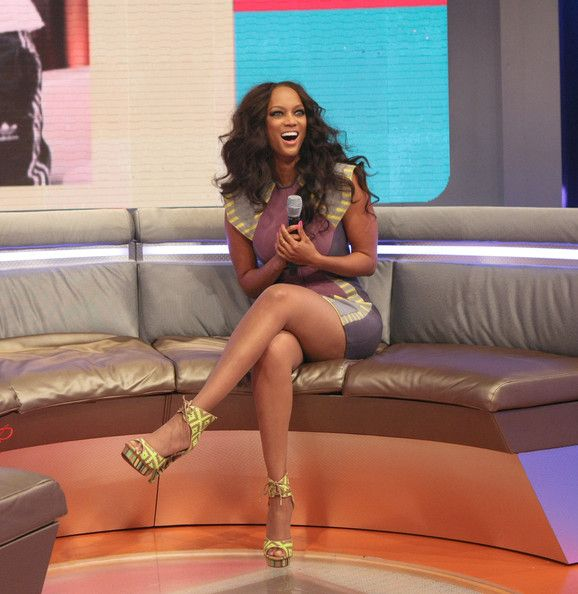 Tyra-Banks-Alejandra G. Shoes. They look ugly by themselves, but they look cute on.