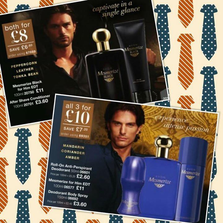 Men's gift sets visit Avon.uk.com/store/shana-shop