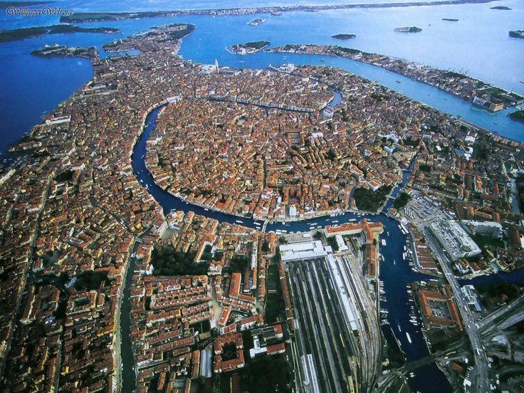 Venice City Airiel View