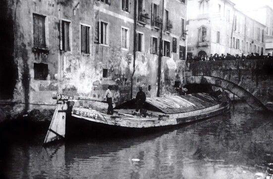 Padova, anni 30, Burcio di San Luigi