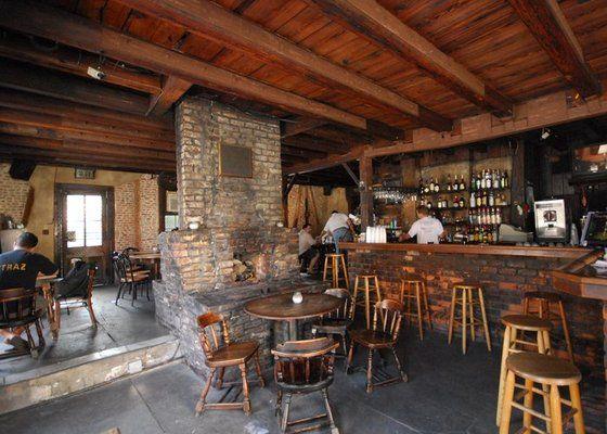 Wood Beams - Lafitte's Blacksmith Shop, New Orleans