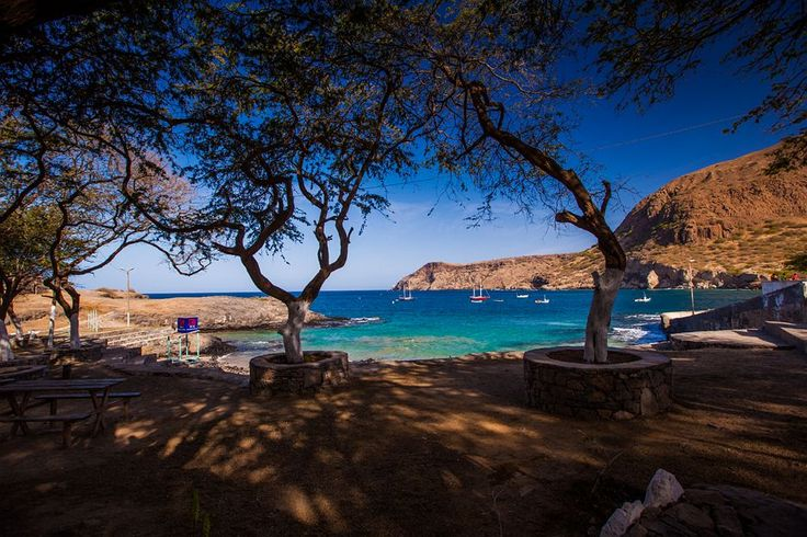 Cape Verde   Cape Verde small harbour