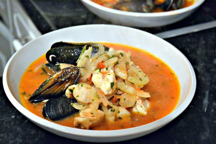 Italian Seafood Stew | Soup & Salad | Pinterest