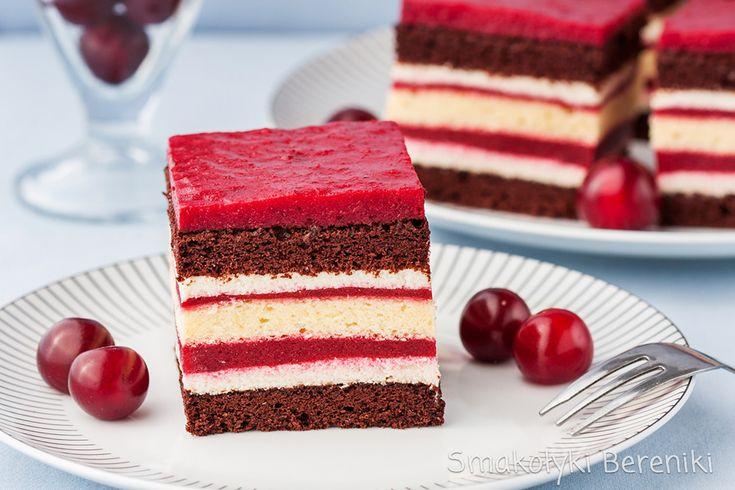 череша слой торта