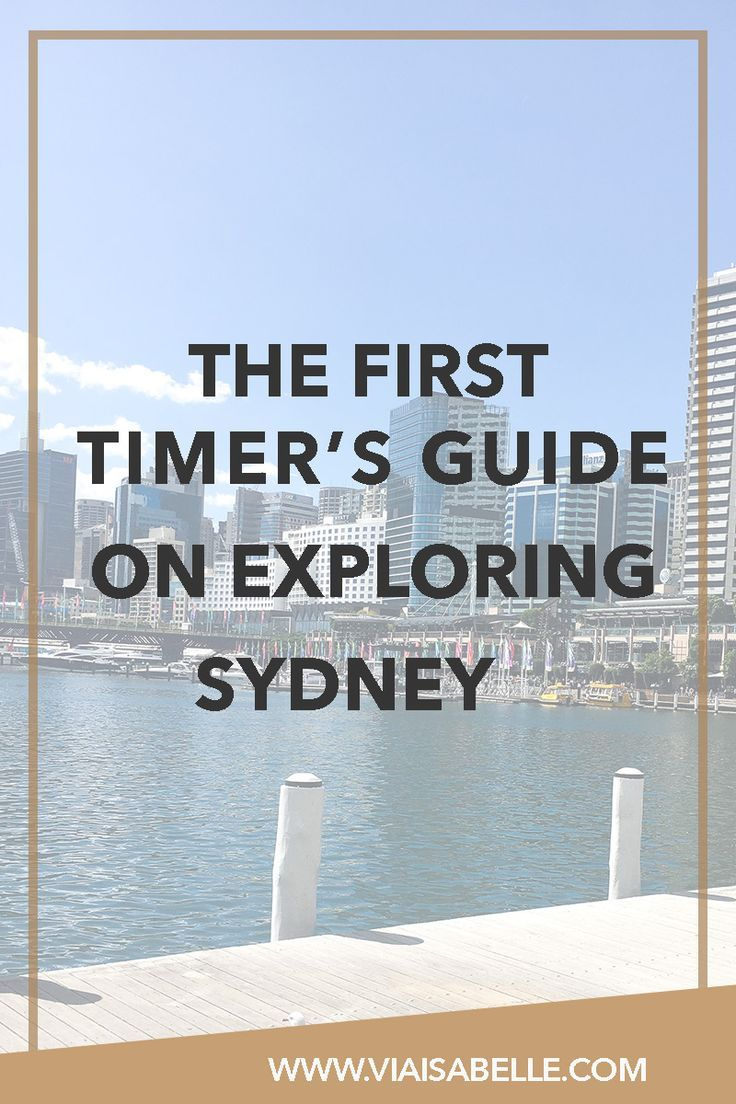 For the rule breakers and the eccentrics. For the list-makers and the girls next door. I've compiled a list just for you -- those who want to see and experience different parts of Sydney beyond the usual tourist routes (read: Opera House, Bondi, and the Harbour). Click on the link below to read more of what the harbour city can offer you during your first time over!