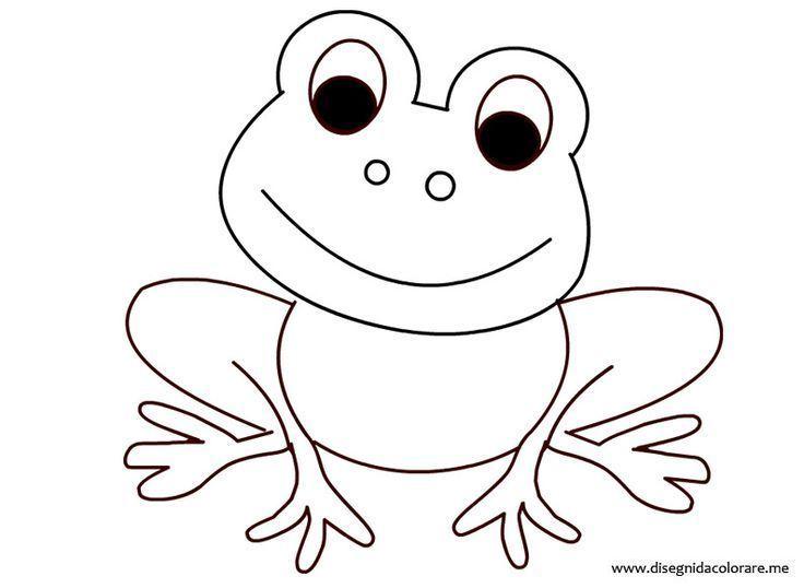 8 Beste Ausmalbilder Frosch Vorlage Kostenlos Drucken ...