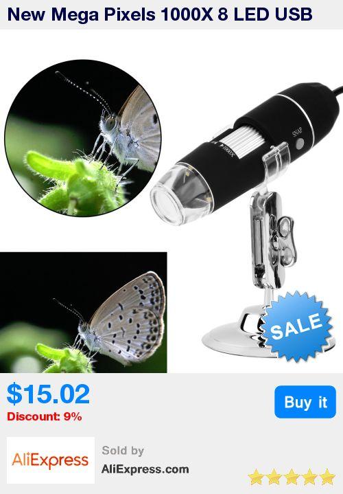 New Mega Pixels 1000X 8 LED USB Digital Microscope Endoscope Camera Microscopio Magnifier Z P4PM Free Shipping * Pub Date: 21:46 Jul 1 2017