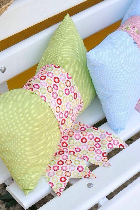 Pillow, summer, green, pink, garden