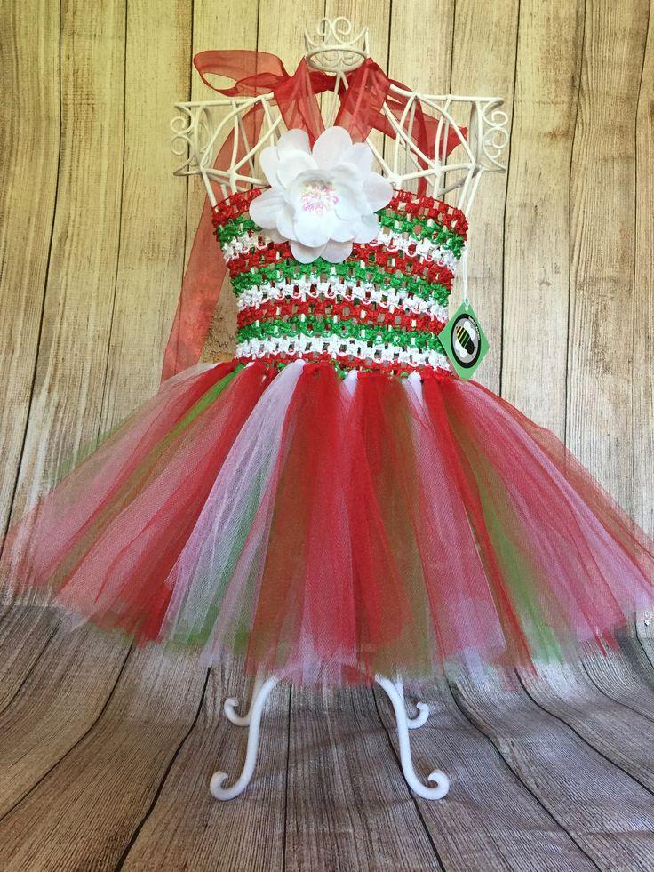 Christmas Tutu Dress - 12 months