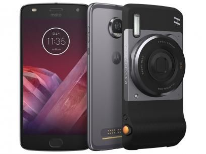 Smartphone Motorola Moto Z2 Play Câmera - Hasselblad Zoom Edition 64GB Platinum Dual Chip com as melhores condições você encontra no Magazine Gatapreta. Confira!