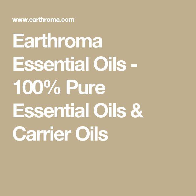 Earthroma Essential Oils - 100% Pure Essential Oils & Carrier Oils