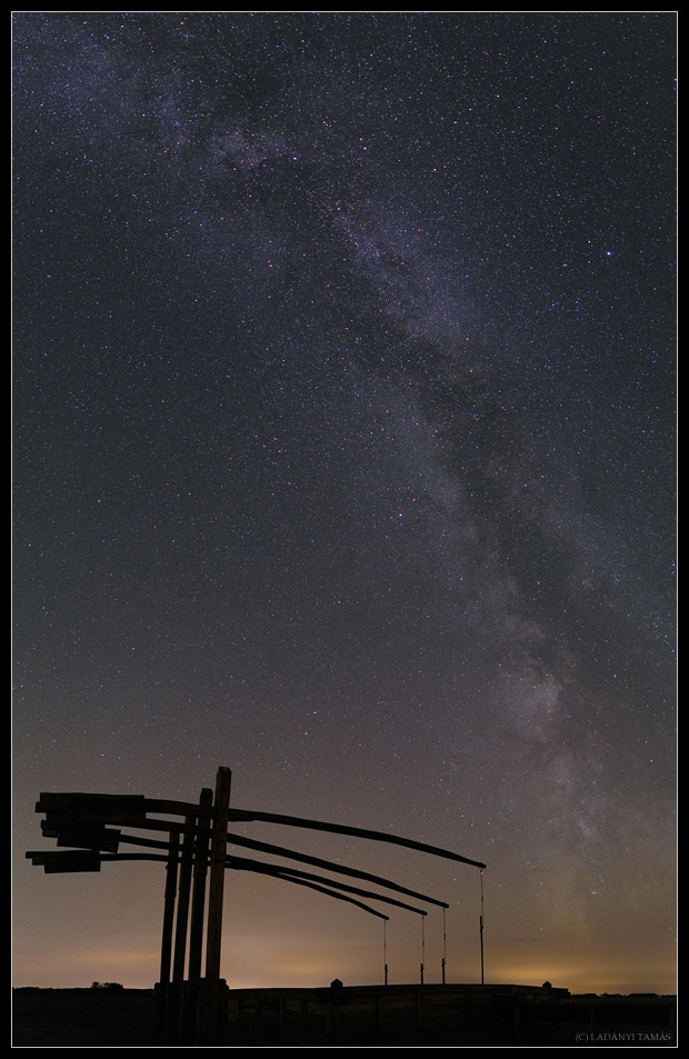 """Milky Way over Hortobagy Starry Sky Park"" by Tamas Ladanyi #Hungary"