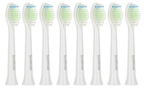 SoniShare Replacement Toothbrush Heads for Philips Sonicare Diamond Clean 8 Pack