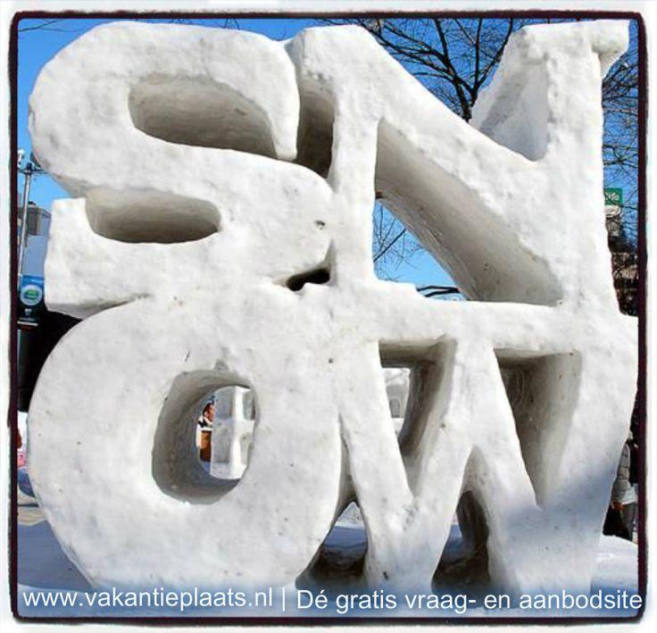 Geniet nog even van de sneeuw vandaag smile-emoticon En als je nog op zoek bent naar een leuke vakantiebestemming in een van de wintersportgebieden, kijk dan eens op http://www.vakantieplaats.nl/categorieen/29_Wintersport