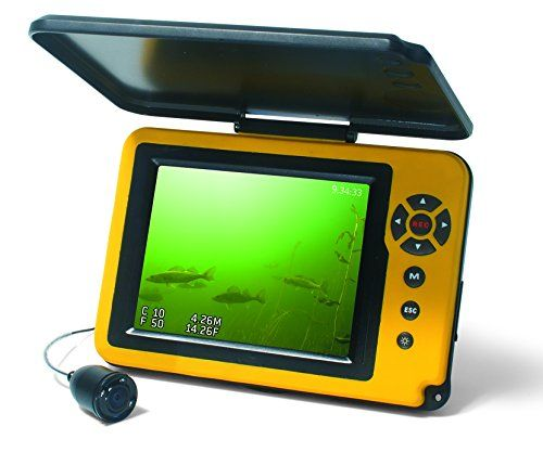 Aqua-Vu AV Micro 5 Plus DVR-DTS Depth & Temperature Underwater Camera with Revolution Cable Management Spool  https://fishingrodsreelsandgear.com/product/aqua-vu-av-micro-5-plus-dvr-dts-depth-temperature-underwater-camera-with-revolution-cable-management-spool/  Color, 90 Degree Camera with Brilliant 5″ LCD Monitor Industry Exclusive, Revolution Integrated Camera Reel System for Effortless Deployment & Retrieval Features a Built-in DVR with 8 GB Internal Memory